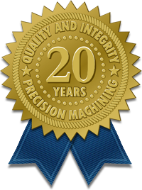 20 Years of Quality and Integrity in Precision Machining